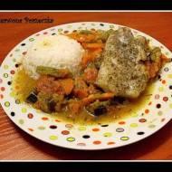 Ryba z warzywami pieczona w folii