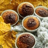 Muffinki dyniowo-kakaowe