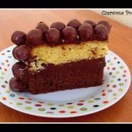 Tort czekoladowo- czekoladowy ;)