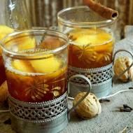 Grzaniec herbaciany z jabłkami i karmelem