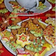 Świąteczne ciasteczka - amoniaczki: Grudniowe Wyzwanie Blogerek