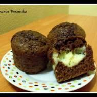 Muffiny czekoladowe z nadzieniem ;)