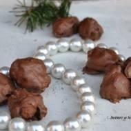 Śliwki w czekoladzie z nutą marcepanu