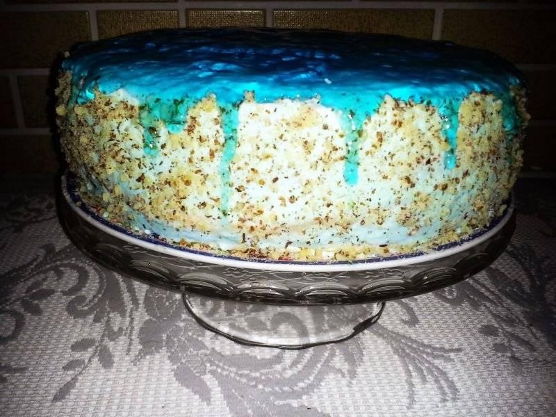 Tort błękitna laguna