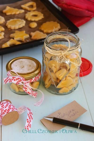 Francuskie ciasteczka waniliowe - Sablé