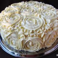 Tort makowo kokosowy