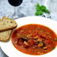 Zupa rybna bouillabaisse Julii Child