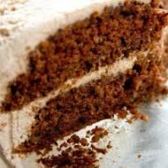Tort marchewkowy / Carrot birthday cake.