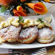 Racuchy z bananami