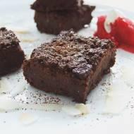Brownies z czarnej fasoli