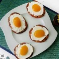 Ciasteczka 'jajka sadzone'