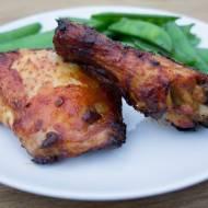 Kurczak w harissie. / Harissa chicken.