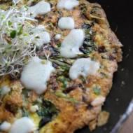 Dietetycznie: omlet z zielonymi warzywami