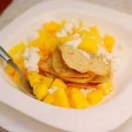 Placuszki owsiane z mango. Cykl: DIETA NISKOKALORYCZNA