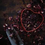 Afrodyzjaki. Hibiskus i czekolada. Trufle w hibiskusowym pudrze.