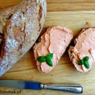 Pasta z suszonych pomidorów i twarogu