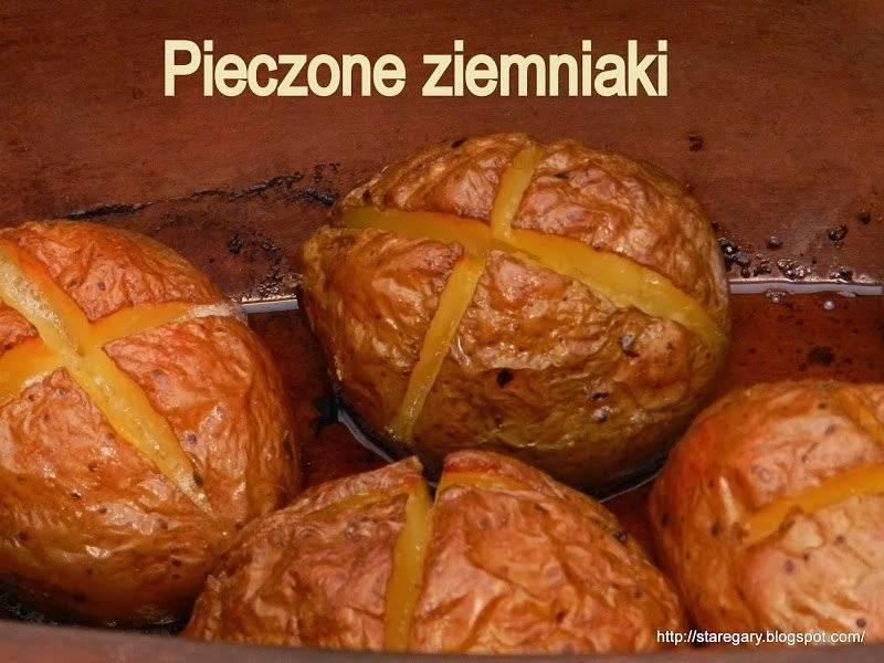 Pieczone ziemniaki - garnek rzymski