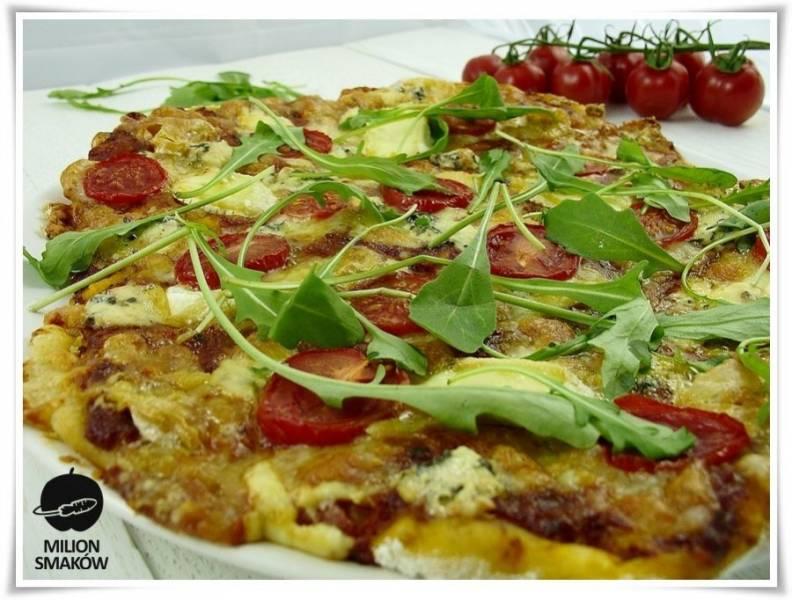 Pizza orkiszowa Marakesz