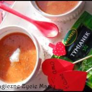 Zupa paprykowo- pomidorowa z nutką tymianku