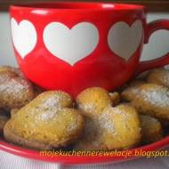 Ciasteczka orzechowe serca