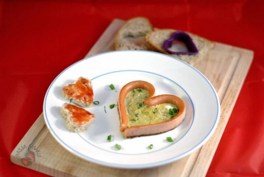 Czas na śniadanie! #15 - Zakochane parówki