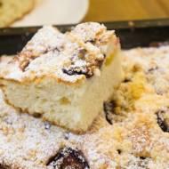 Najprostsze ciasto ze śliwkami. / The easiest cake with plumes.