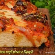 Sfincione czyli pizza z Sycylii - Lutowe Wyzwanie Blogerek i Blogerów
