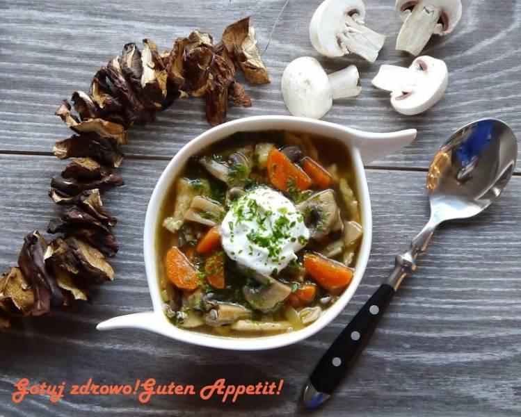 Zupa pieczarkowa-pyszna.Znaczenie zup