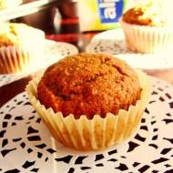 Muffiny owsiane z bananem ( bez jaj, mleka, pszenicy )