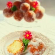 Kuleczki serowe ( serowe pączki )