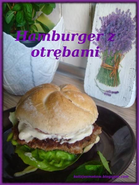 Domowy Hamburger z otrębami