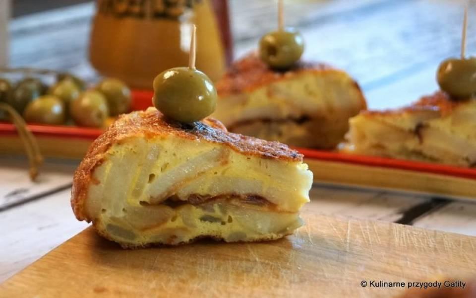 Tortilla española de patatas, czyli omlet ziemniaczany