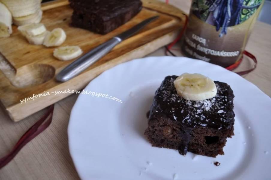 46. Słoneczny poranek i bananowe ciasto z karobem (bez jajek!)