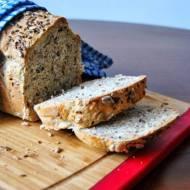 Chleb pszenny na maślance z otrębami pszennymi i żytnimi