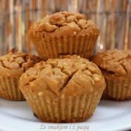 Bezglutenowe muffiny sezamowe z mąki sojowej