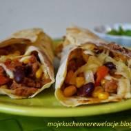 Burrito w tortilli kukurydzianej