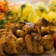 Szaszłyki z polędwicy wieprzowej wg Jamiego Olivera. / Jamie Oliver's skewers with pork tenderlion.