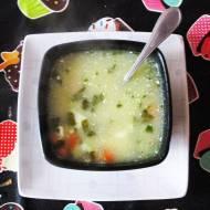 Wiosenna zupa szczawiowa