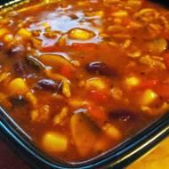 Potrawka meksykańska z mięsem mielonym
