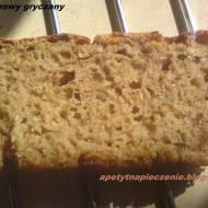 Chleb razowy gryczany na zakwasie