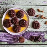 Ciasteczka czekoladowe powalające smakiem:)