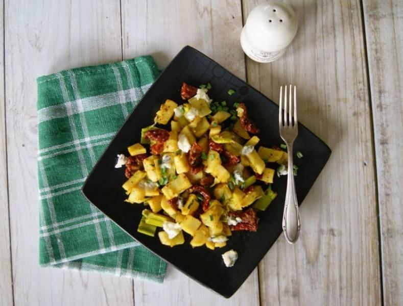 Warzywa z patelni, czyli coś lekkiego przed świętami...