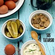 Domowy sos tatarski na domowym majonezie