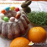 Pomarańczowa babka z łezką
