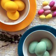 Naturalnie barwione jaja na Wielkanoc