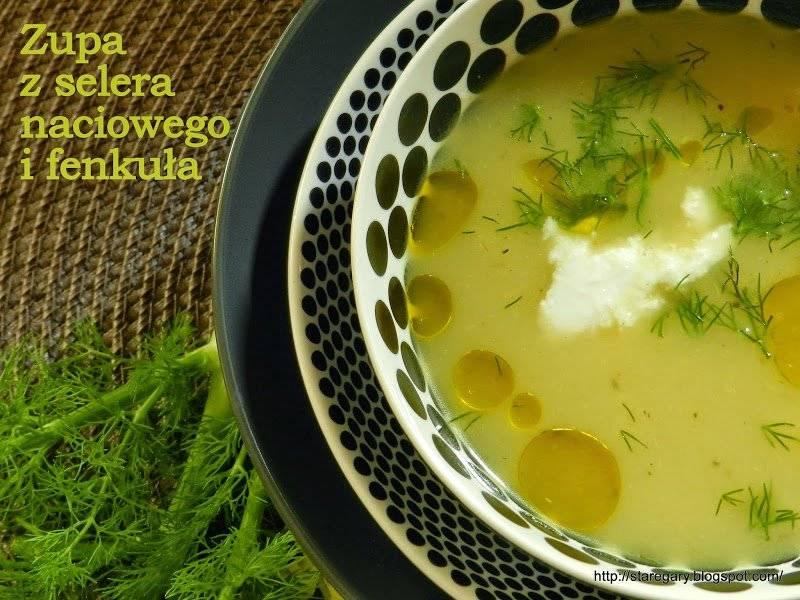 Zupa z selera naciowego i fenkuła