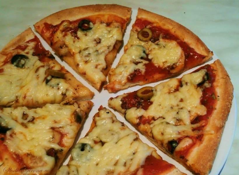 Pizza (Ciasto na Pizzę) z Kaszą Manną
