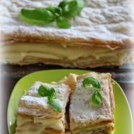 Kremówka - połączenie ciasta francuskiego i budyniu