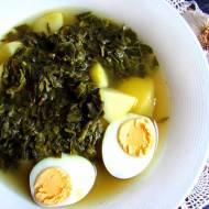 Szczawiowa zupa nic (prostszego), czyli fastfood na upały
