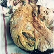 Pszenny chlebek z bazyliowym pesto, Pudelko Sniadaniowe odslona 11ta i o KUCHENNYCH rozterkach.